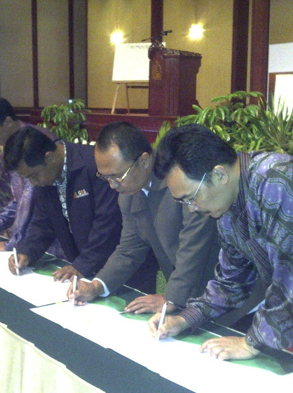 MoU between DPP IAEI with STIE GICI Depok