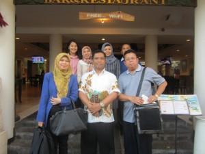 di depan hotel legian-Bali