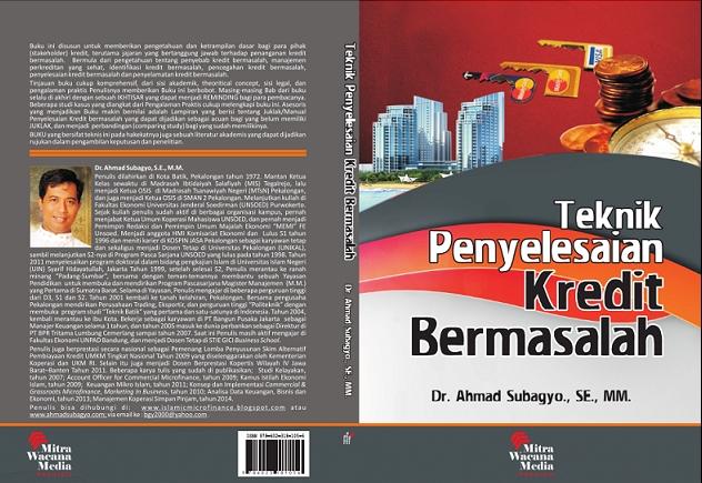 cover buku Teknik Penyelesaian Kredit Bermasalah